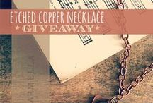 Giveaways!! / by Creative Carmella
