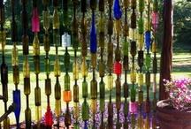 ~ Wine Bottle Crafts ~ / by Michele McKenzie Bobbitt