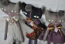 =^.^= Handmade Cats =^.^= / by Michele McKenzie Bobbitt