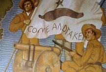"""Texas Revolution & Family Connections / My earliest TX ancestors arrived when Texas was still part of Mexico. They pledged their allegiance to their new country - as """"Spaniards from the United States of the North"""" - all outsiders were called """"Spaniards."""" Things went awry with the Texians & the Mexican Gov't and my family got caught up in another Revolution (1835-36)! Texas was a Republic until 1845, when it was annexed to the U.S. and my family became U.S. Citizens once again. Long story short - Because of all this, I'm a TEXAN!"""