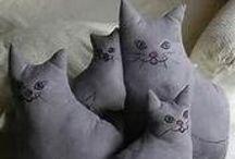 =^.^= Cat Patterns =^.^= / by Michele McKenzie Bobbitt