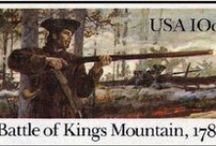 Battle of Kings Mountain/American Revolution / Grandfathers, several uncles & many cousins fought in this one.  Armstrongs, Maxwells, Caldwells, Duffs, Cowans, Alexanders, Davidsons, Dickinsons, Brooks, among others.  It's one of my favorite battles to read about.  Hope one day to make the trip to cover the path these men took and visit the site of the battle.  The battle took place 7 Oct 1780.