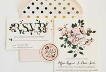 gettin' hitched. invites. / pretty wedding invitations + save the dates + paper goods.