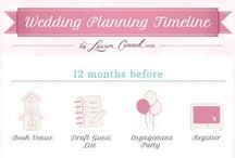 gettin' hitched. tips + timelines.