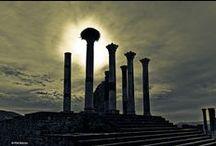 Volubilis  / Roman ruins in Morocco.   / by Patti Elliott Di Loreto
