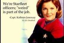 """Star Trek Fan - Yes, I'm a """"Trekkie."""" / What can I say except that I love them all!"""