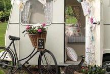 Vintage Campers / by LaurieAnna's Vintage Home