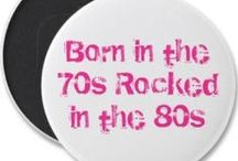 Born in the 70's...child of the 80's...teenager of the 90's / by Nikki Philo-Hale