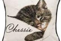 =^.^= C&O Railroad Chessie Cat =^.^= / by Michele McKenzie Bobbitt