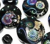 MayaHoney: Lampwork glass beads / Artisan lampwork glass beads created by MayaHoney.
