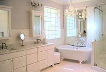 Master Bath design and decor