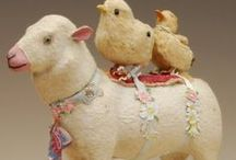 Eggs and bunnies and chicks, oh my! / Easter inspiration / by Kelly Lamb