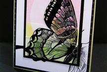 Stamp Set - Swallowtail