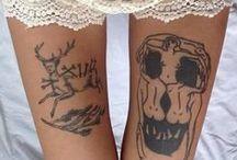 tattoos / I like tattoos here