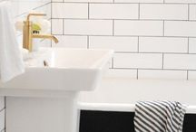 HOME + Bathroom / by Chelsey Oldham