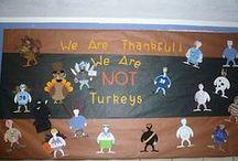 Thanksgiving Classroom