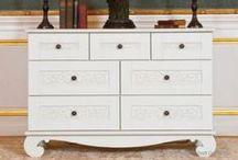 Dressers & Storage / Storage options can make or break a room!