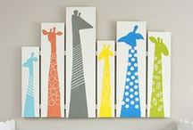 DIY Decor / Fun ways to add handcrafted touches to your kid's room.