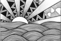 Ink Doodles / Ink doodles & illustrations / art