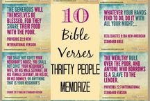 Frugal & Efficient: Saving time/money / Tips and ideas to become the wise and frugal steward the Bible talks about.