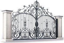 Готовая продукция: ворота металлические кованые / Ворота металлические. Художественная ковка /Automatic ornamental iron. Gates made of metal