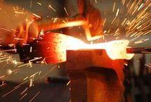 Производство / Production / Компания «Метал Мэйд» имеет в своем распоряжении для производства кованых изделий собственные цеха.