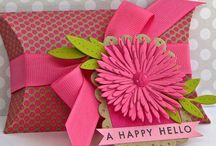 Crafts - Pillow Boxes, bags, gift cards