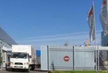Складской комплекс компании ИКСтайл. / Оградить промышленное здание предприятия долговечными материалами - значит, обезопасить свой бизнес, а также позаботиться о сохранности имущества и транспорта!