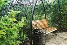 Кованые крылечки, балконы и перголы для растительности. / Заказывайте, не стесняйтесь). Недорого!