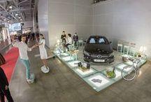 Выставочные стенды, металлические конструкции / Металлические конструкции выставочных стендов, выполненные нашей фирмой для компании Xtile.ru / ИКСтайл Интерьер