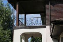 Балконные ограждения, перила. / Художественная ковка Производство и продажа кованых изделий