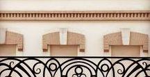 Заметные кованые... в стиле французских балконов / Оконные ограждения