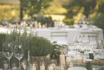 Rustic Table for Wedding / many ideas to the table of your marriage in a country style in Borgo La Capraia in Tuscany!