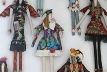 dolls / by Joanne Huffman