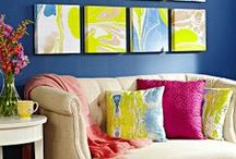 Wall Art / A collection of decorating & displaying ideas.  / by Tena Thompson Sanders