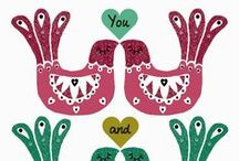 Love hearts / by Folksy