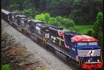 Trains, Trains and More Trains / by Norfolk Southern
