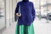 fashion/streetstyle / by Maria