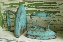 Ironing Boards & Irons - Antiques &/or Vintage
