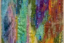 fiber/fabric art / by Joanne Huffman