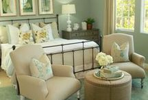 Master Bedroom Design / Bedroom / Bed / End Table / Nightstand / Sleep / Sheets / Blankets / Quilt / Lamp / Dresser