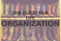 The quest for life organization