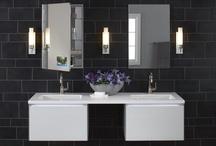 Residential * Bathrooms / Residential bathrooms; bathroom trim; bathroom hardware; bathroom ideas; bathroom designs