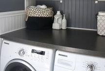 Laundry Room Design / Laundry / Washer / Dryer / Cleaning / Clothes / Laundry Room / Wash / Dry / Coin Sorting/ Coins / Change / Fold / Folding / Iron / Ironing