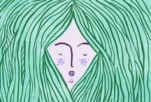 Illustrated / by Folksy