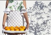 """Here comes the sun /  Spring-Summer 2015 collection: """"Here Comes The Sun""""  Here Comes The Sun is the light, the flowers and the most characteristic odor of a magical summer on a Mediterranean island. Feelings of a collective imagination craves enjoy the arrival of summer."""