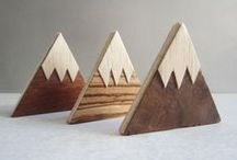 Wood / Wood turning and woodcraft from UK cabinet makers and designers.  / by Folksy