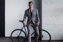 Groom style / Groom's style, outfits and men's wedding attire.