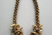 Kumihimo, crocheted jewelry