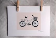 Gifts for Cyclists / A collection of cycling-related things from British designers and makers to make bike lovers happy. / by Folksy